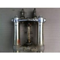 1989 Suzuki RM250 Triple Clamps RM 250 Steering Stem Tree