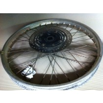 Honda XR250 XR 250 Front Wheel Hub Rim Spokes DAMAGED CRACKED RIM 1996