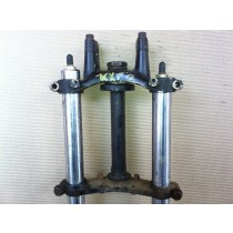 Kawasaki KX60 KX 60 Triple Clamps Steering Stem Tree