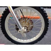 Front Wheel For Repair Kawasaki KX80 KX 80 1998 1999 2000