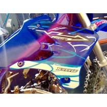 Right Radiator Shroud Scoop for Yamaha YZ250F YZF YZ 250 2003 03