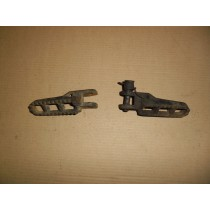 Footpegs Foot Pegs Rests for Suzuki RM125 RM 125 1981