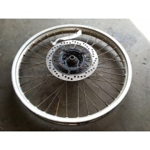 Front Wheel Hub Spokes Rim off a Honda CR125 CR 125 1988 88
