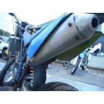 HUSABERG FE650 Exhaust Muffler Baffle Silencer Pipe FE650 FE400 FE501  01 - 03