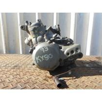 Complete Engine Kawasaki KX80 KX 80 Bottom End Motor Cast Iron Bore 1993