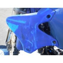 YAMAHA YZ250F LEFT Radiator Shroud Plastic YZ 250 2001 '01 01 - 02