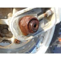 96 HONDA CR80 BW Rear Wheel Axle Shaft Bolt Honda CR 80 85 Big Wheel 1996 96
