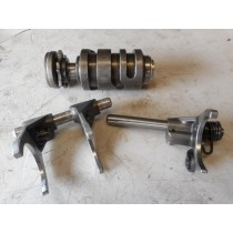 '10 HUSQVARNA TC250 Gear Selector Drum & Shift Forks TC 250 2010 Husky TC250