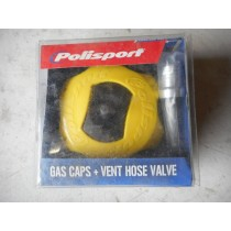New Polisport Yellow Fuel Tank Gas Cap RM RMZ CRF XR