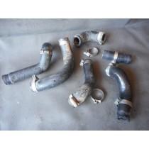 07 HUSQVARNA TE250 Radiator Cooling Hose Set Pipes TE 250 Husky 250 2007 07