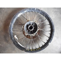 88 Kawasaki KX125 '18 Rear Wheel RIM Worn Hub KX 250 K X 1988 88