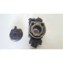 Barrel Cylinder Head Powervalve Husqvarna WR250 WR 250 1989 89 70mm Bore