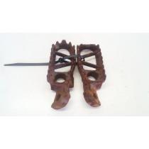 Footpegs Foot Pegs Rests for Kawasaki KX250 KX 1993 93