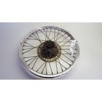 Front Wheel Hub Spokes Rim off a Kawasaki KLR600 KLR 600 250 1984 84