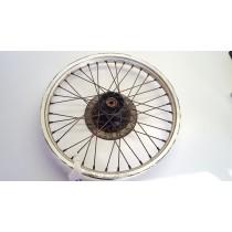 Front Wheel Hub Spokes Rim off a Kawasaki KLR250 KLR 250 1994 94