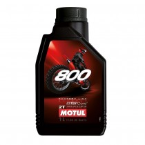 MOTUL 800 1L FACTORY LINE Two Stroke Synthetic Premix Racing Oil 2T