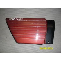 Suzuki GS250 GS 250 Right Red Sidecover Cowling