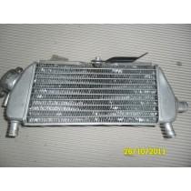 Kawasaki KX250 KX 250 1999 99 Right Radiator Water Cooler Parts Bits Good