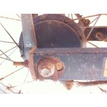 Rear Brake Backing Plate to suit Suzuki DF125 DF 125 1985 85