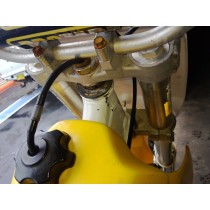 Triple Clamps Steering Stem Tree to suit Suzuki RM250 RM 250 1990 90