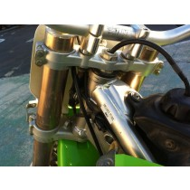 Triple Clamps Steering Stem Tree to suit Kawasaki KX250F KX KXF 250 0 RMZ RMZ250