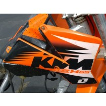 Right Tank Shroud Scoop for KTM 65SX 65 SX 2002 02