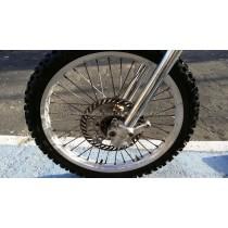 Front Wheel Hub Spokes Rim off a Kawasaki KX250 KX 250 125 1995