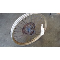 Front Wheel Hub Spokes Rim off a Husqvarna CR WR TE 125 250 400 430 1986 86