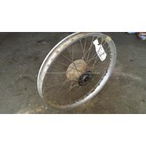 Front Wheel Hub Spokes Rim off a Kawasaki KX250 KX 250 125 1987 87