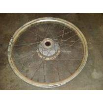 Front Wheel Hub Spokes Rim Off A KTM 390 GS ? 250 Unknown Year Model EGS MX ?