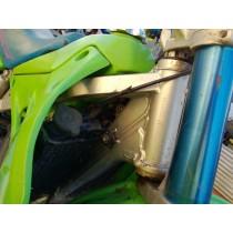 Frame Chassis from Kawasaki KX125 KX 125 1991 91
