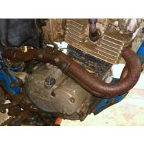 Exhaust Header Pipe for Suzuki DR200 DR 200 1985 85