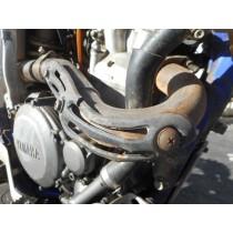 YAMAHA YZ250F Exhaust Header Pipe YZ250 F YZ 250 250F 2001 - 02