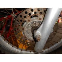 Front Brake Disc Rotor For Kawasaki KDX200 KDX 200 1990 Road Trail