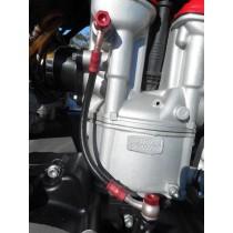 10 HUSQVARNA TC450 Oil Feed Lines Pipe Hoses Set TC 450 2010 VGC 24hrs