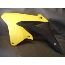 09 SUZUKI RMZ450 Left Radiator Shroud Plastic Guard RM Z 450 Suzuki RMZ 09-10