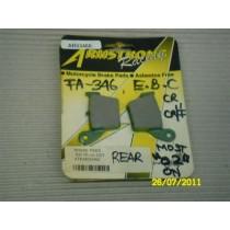FA 346 Honda CR CRF Rear Brake Pads 2002 02 Onwards
