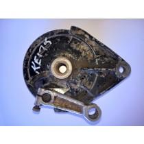 Rear Brake Backing Plate Panel for Kawasaki KE175 KE 175 B 1981 81 41035-1325