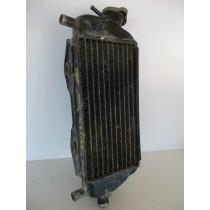00 KAWASAKI KX125 Right Radiator Rad Cooling KX 125 2000 00-08 P/N 39061-0013