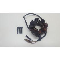 Honda XR250 1990 Stator Magneto Generator Damaged Wiring 86-91