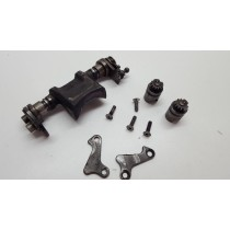 KTM 250EXC 2001 Power valve assy exhaust control flap - 01-02 EXC SX
