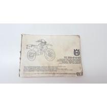 Owner's Manual Husqvarna TE 350-610 1992