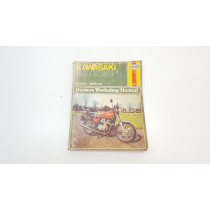 Owner's Manual Kawasaki 650 FOUR 1976 Appears First Edition