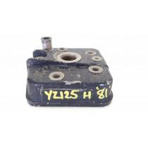 Cylinder Head Yamaha YZ125 1981 YZ 125 H 81 Top