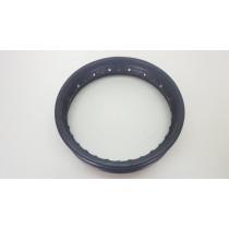 """Black Steel Rim 1.85X12"""" 12"""" Suit Unknown Rear Wheel"""