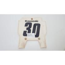 Race Number Front Plate Kawasaki KX125 KX250 KX500 89-96 KX