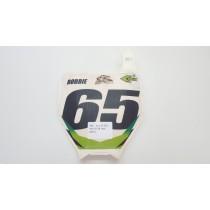 Race Number Front Plate Kawasaki KX 125 250 250F 450F 05-08