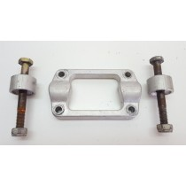 Upper Handlebar Clamp & Bar Risers w Bolts Husqvarna TE510 TE 510 250 310 450 TC SMR 2006-2007