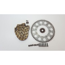 Chain + Sprocket Kit #626 Yamaha WR250F 2002 WR 250 12T 49T 520