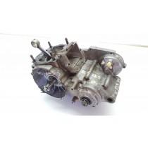 Bottom End Motor Transmission Gearbox Crank Cases Kawasaki KX125 1989